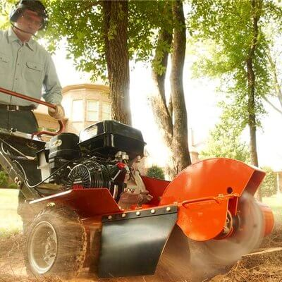 Tree Stump Grinder / Tree Stump Chipper - Petrol