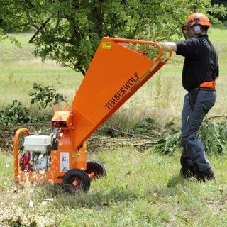 Heavy Duty Garden Shredder / Wood Chipper - Petrol